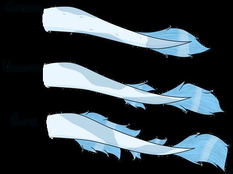 Eishund Tail Variants