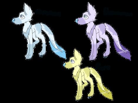 Eishund Color Variations