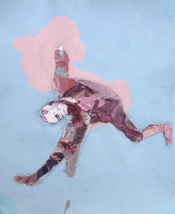 Falling by Andrewnewtonart