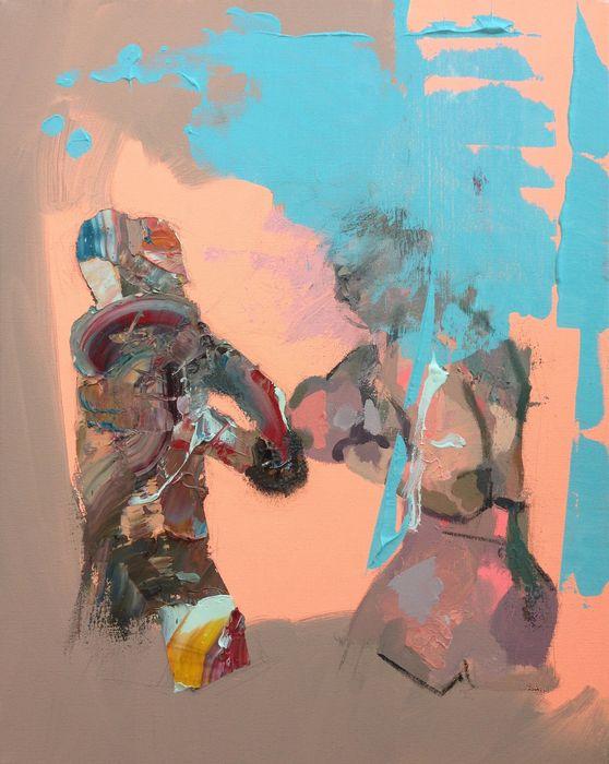 Fight by Andrewnewtonart