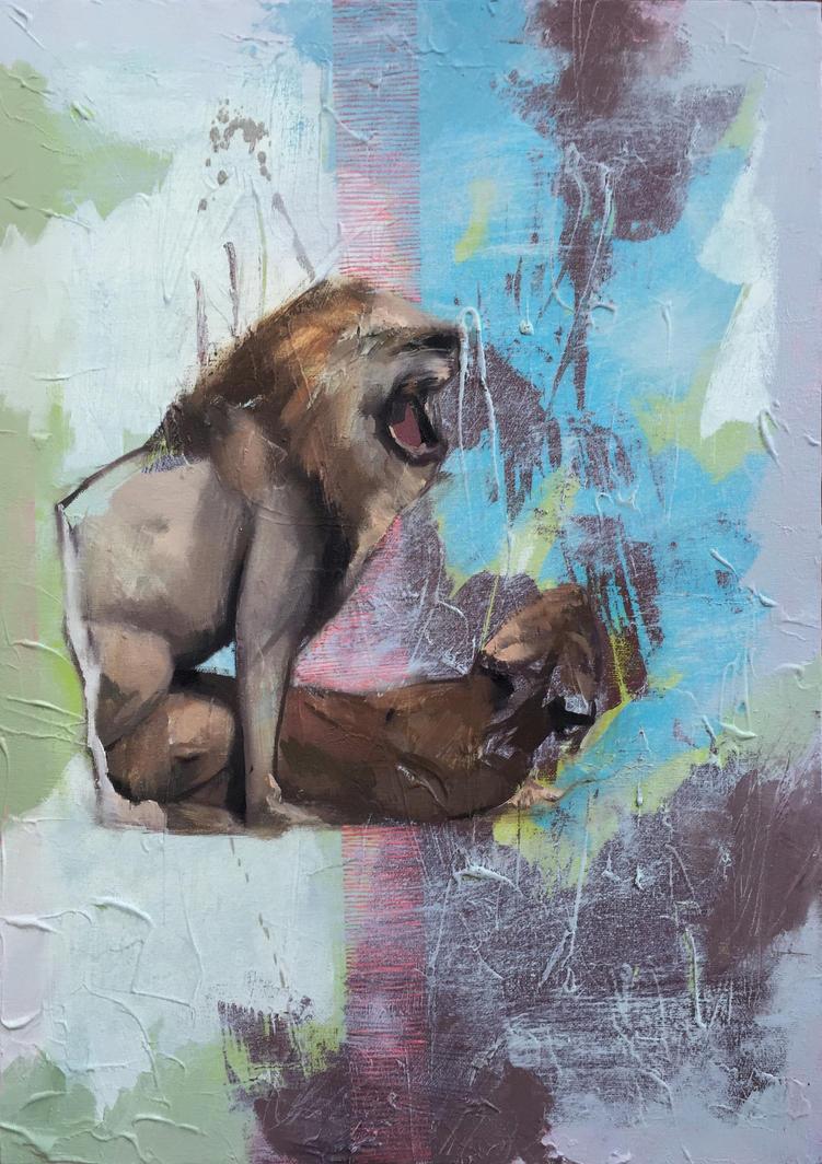 Wild by Andrewnewtonart
