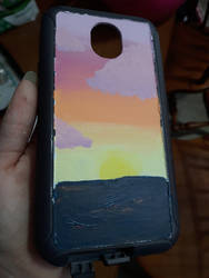 I painted my phone case, am I a cool kid now?