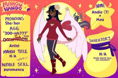 MahouWando character App- Andie and May