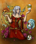 Lilith for Lost Kingdom Colour Contest by VoidmageHusher