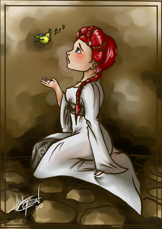 Sansa Stark by VoidmageHusher