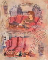 Comfy Couch by artfulshrapnel
