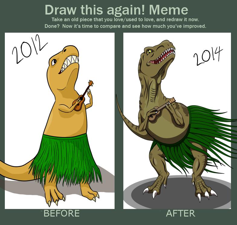 draw this again meme dating