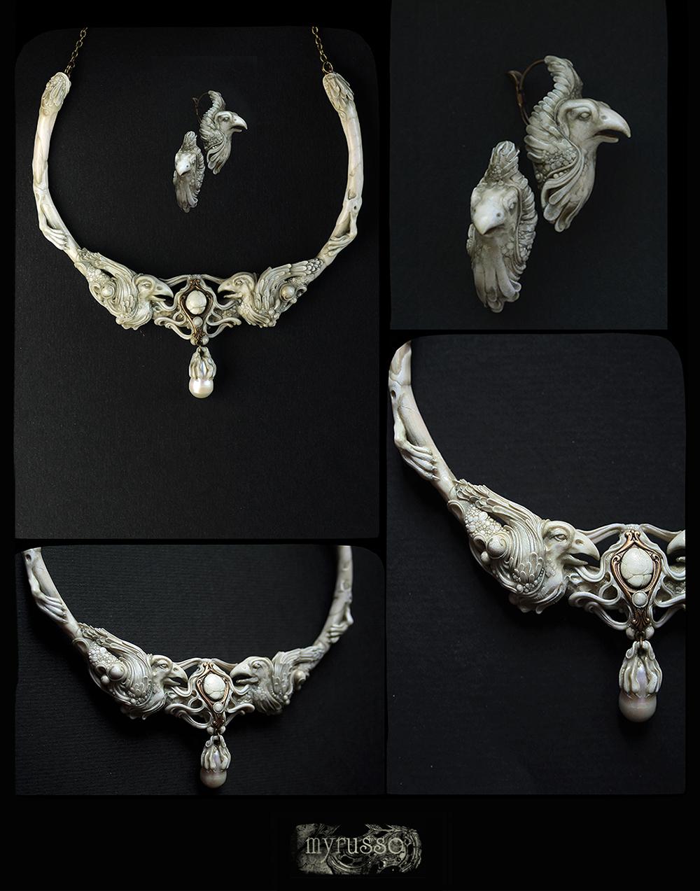 Marmor Greife by Myruso