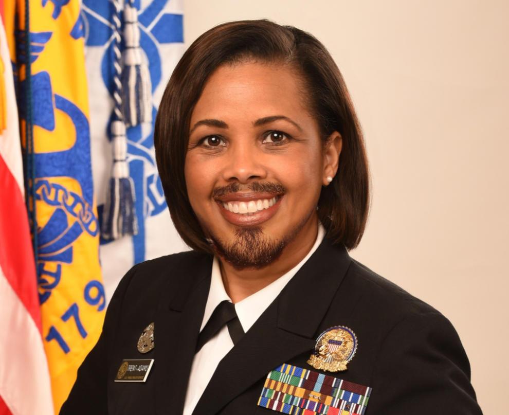 Surgeon General Rear Admiral Sylvia Trent Adams. by AGummyBear