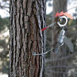 The Bionic Bird With A Six Million Dollar Pecker