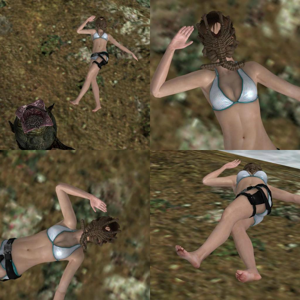 Lara croft bikini porn movie