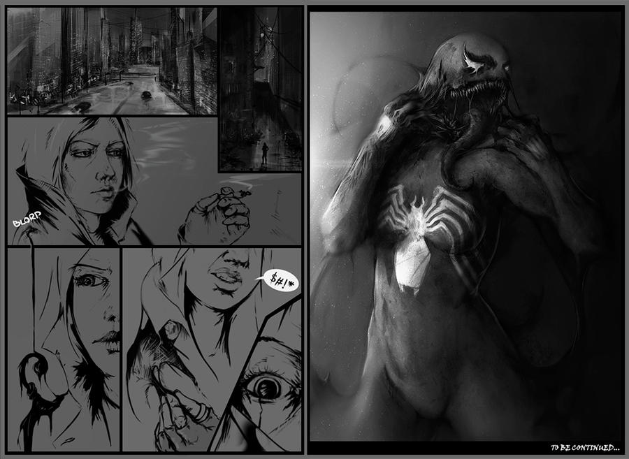 Venom Page by Faraone