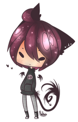 Random chibi by HungryKuroneko