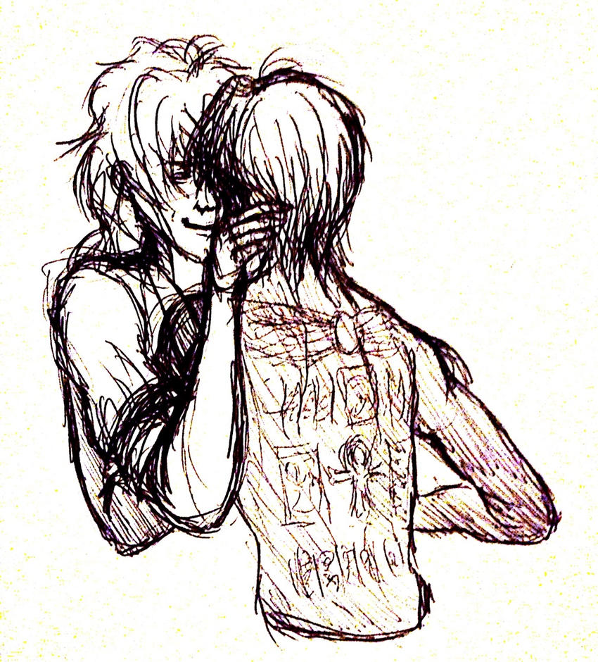 YGO : Stickyhands Friendboys by Scarabsi