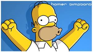 Homer Simpsons by semihozkoc