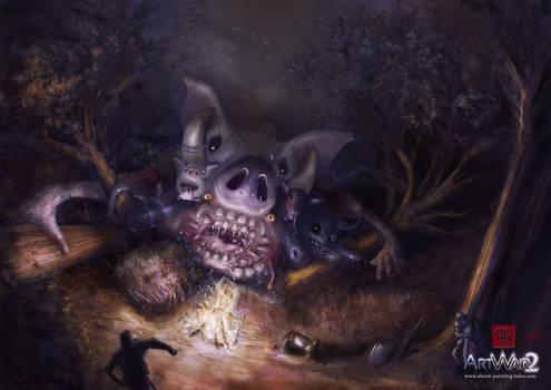 Glutton the plague