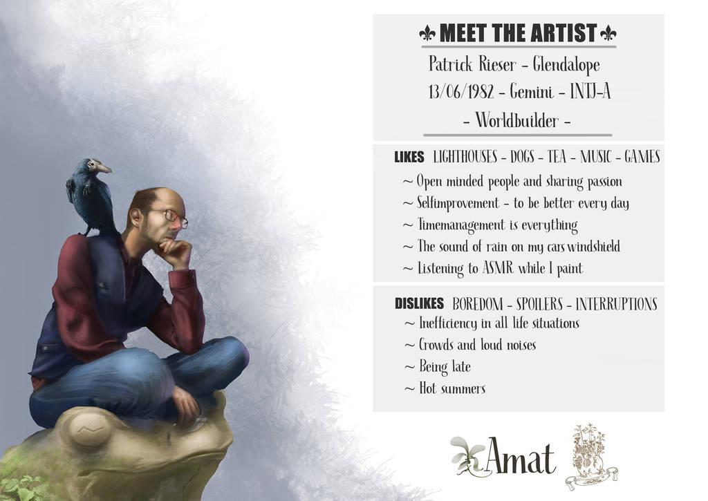 #Meettheartist by PatrickRieser