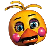 Toy Chica Head Transparent by YinyangGio1987