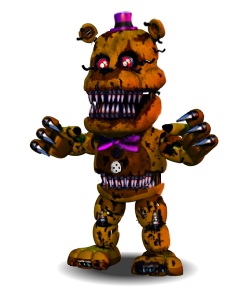 Nightmare Fredbear Accurate by YinyangGio1987
