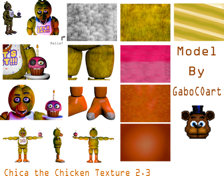 Chica the Chicken Texture 2.3