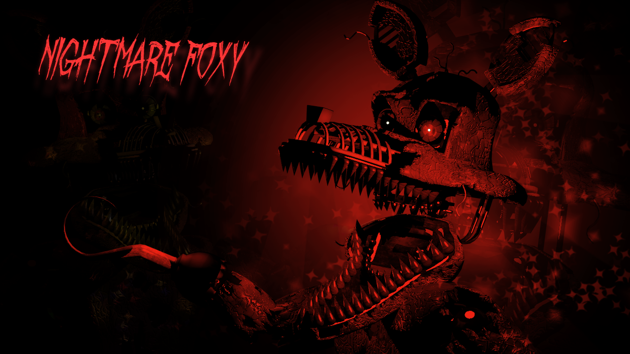Five Nights at Freddy'-s images Fan art of nightmare foxy HD ...