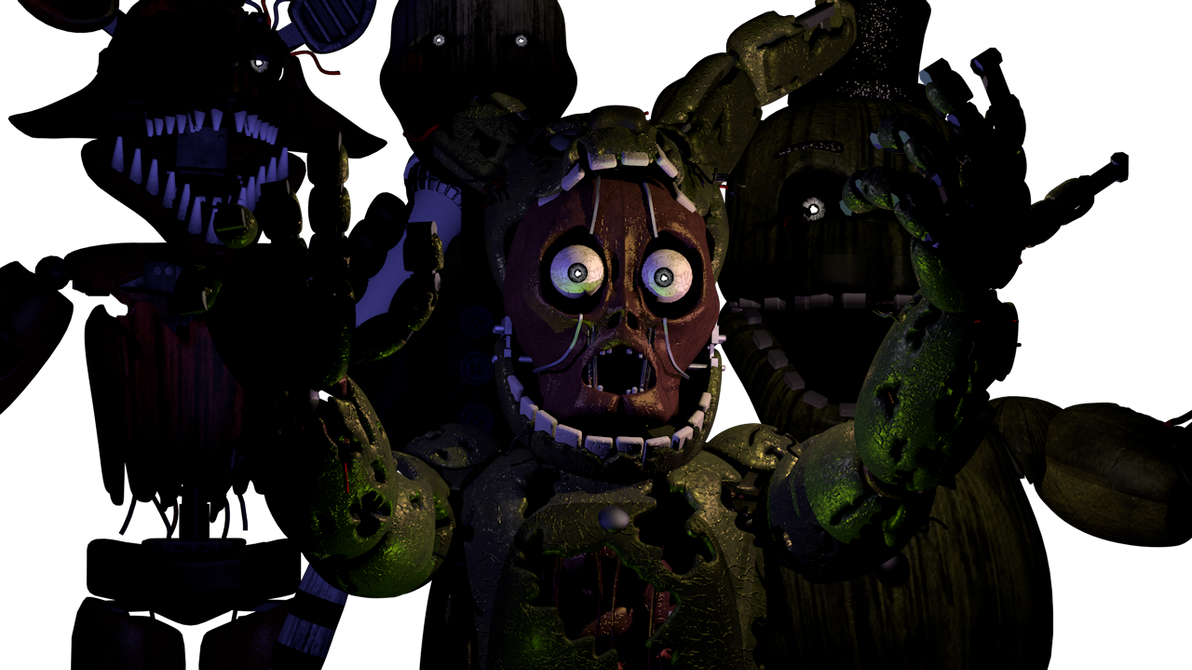 Images of Fnaf 3 Animatronics - #rock-cafe