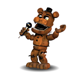 Withered Freddy Accurate V2 by YinyangGio1987