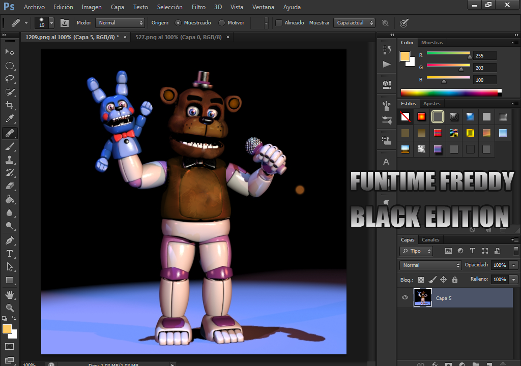 Mmd Funtime Freddy: Funtime Freddy By YinyangGio1987 On DeviantArt