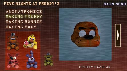 FNAF 1 Extra | Making Freddy