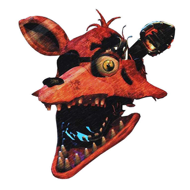 Foxy The Pirate Head Png By YinyangGio1987 On DeviantArt