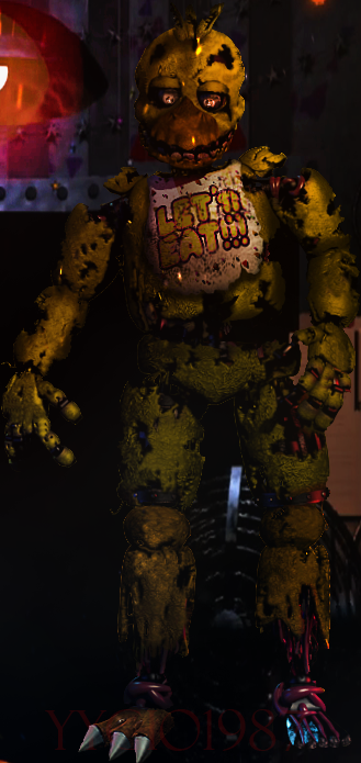 Edits|Spring Chica the Chicken by YinyangGio1987