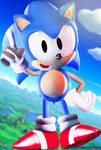 C4D|Sonic the hedgehog