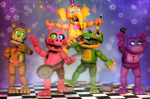 C4D|FFPS|The stars of the show! by YinyangGio1987