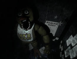 C4D|FNAF|East Hall Corner by YinyangGio1987