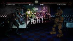 C4D|FNAF|Round 1 by YinyangGio1987
