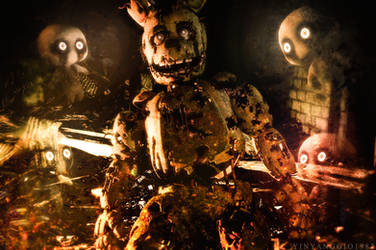C4D|FNAF|Demolition Inevitable by YinyangGio1987