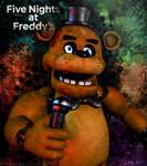 C4D|FNAF|Poster|Freddy