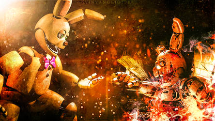 Springbonnie asks for springtrap in marriage