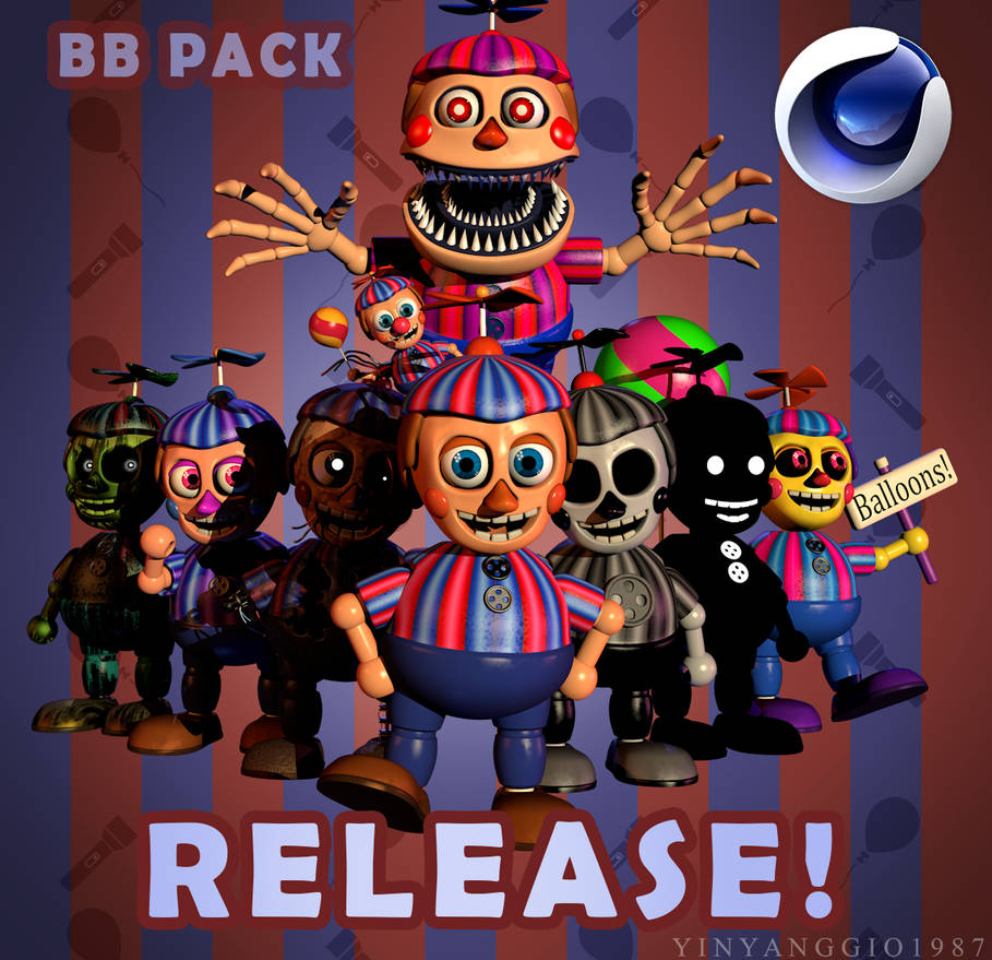 Balloon Boy Pack Release By YinyangGio1987 On