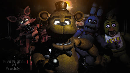 C4D|FNAF|The night has begun.