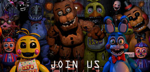 C4D|FNAF2|No place to run + Discord Server