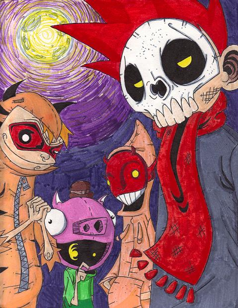 i luv halloween by kelden17 - I Luv Halloween Manga