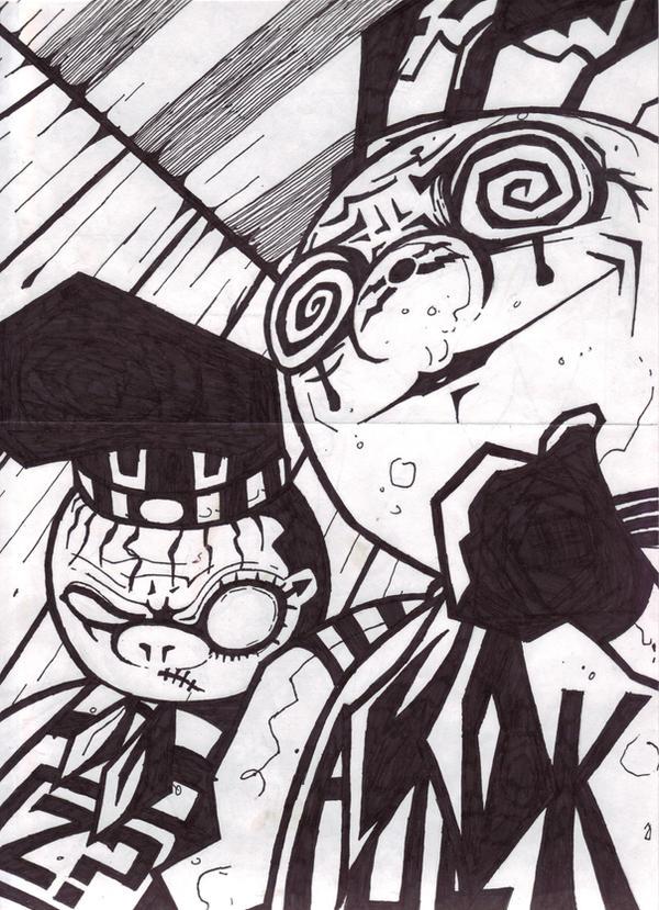 Mr. Eff and D-Boy by Kelden17