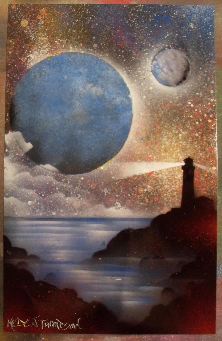 Space Painting 6 by Kelden17