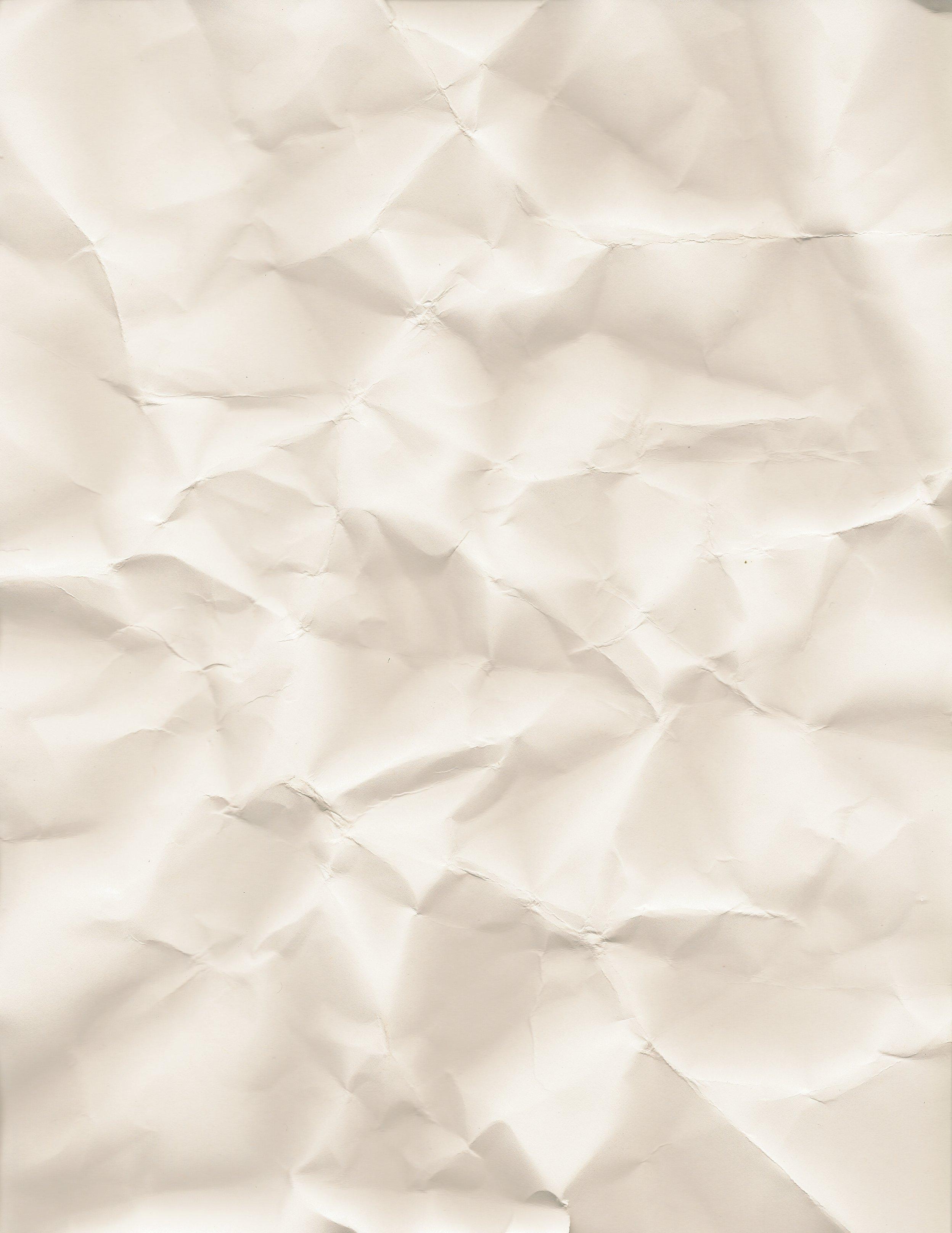Crumpled Paper Texture hi-res