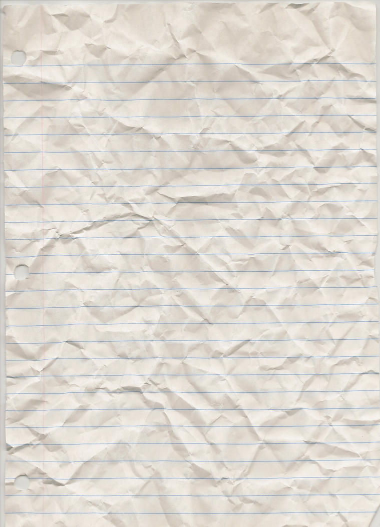 Hi-Res Lined Paper Texture by ze-r-o