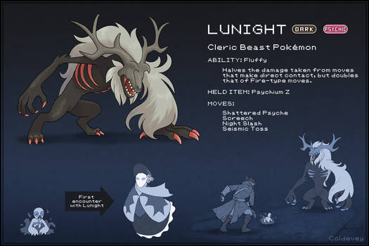 Cleric Beast Fakemon