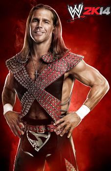 Shawn Michaels WWE2K14 Promo Shoot