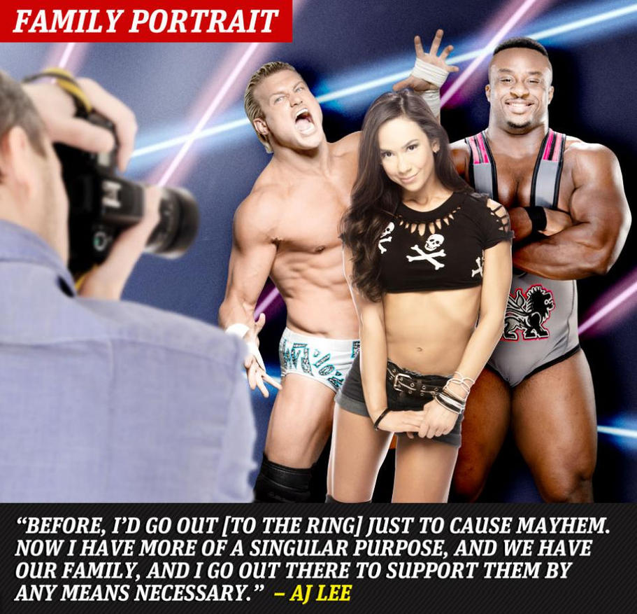Kane and aj lee dating in real life