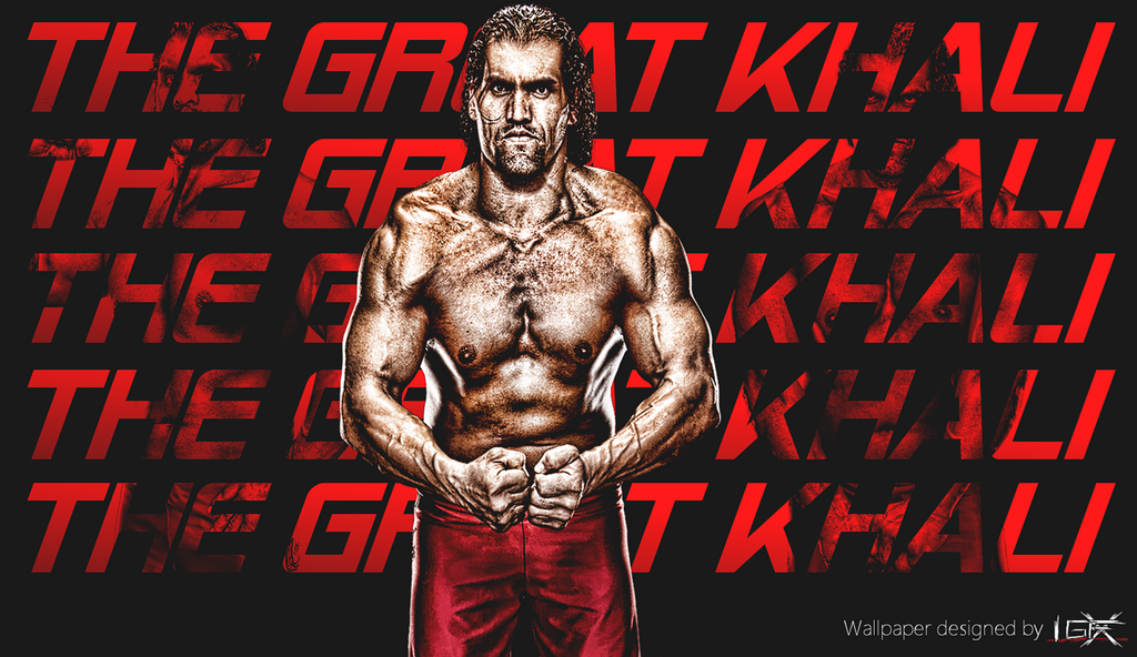 The Great Khali WWE Wallpaper By TheElectrifyingOneHD On